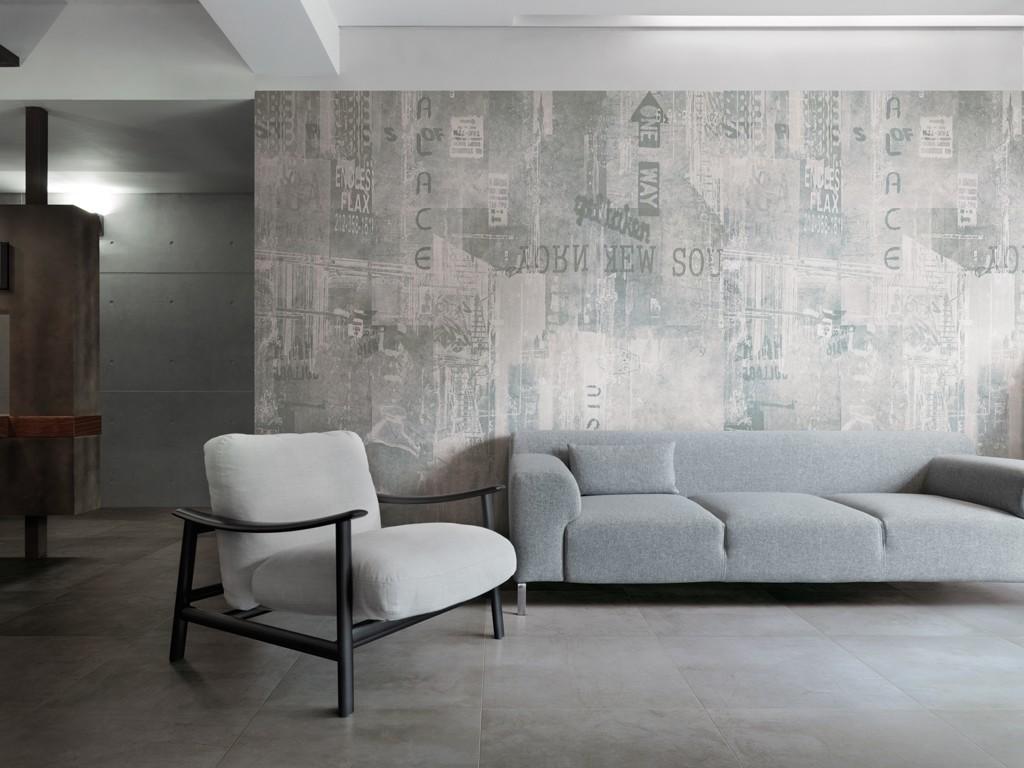 Piastrelle effetto cemento in gres porcellanato graffiti for Carrelage urban white
