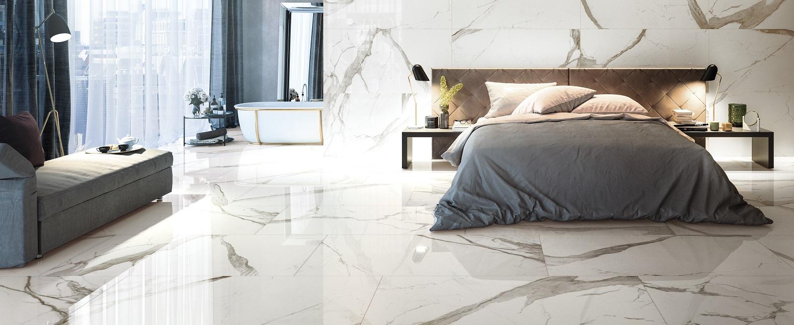 Pavimento Finto Marmo Lucido pavimento effetto marmo | prestigio