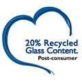 Green Tiles: 20% post-consumer