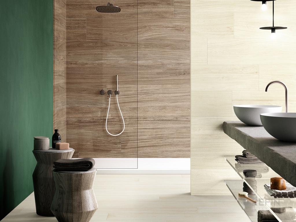 Piastrelle grande formato effetto legno giant ceramiche refin spa