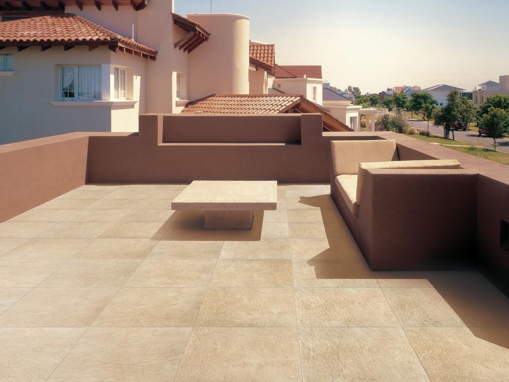 Piastrelle in gres porcellanato per esterno arketipo - Rivestimento terrazzo ...