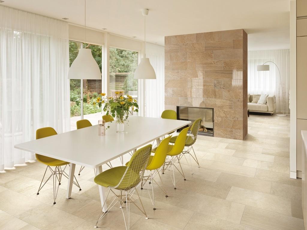 piastrelle soggiorno: pavimenti in grès porcellanato - Piastrelle Moderne Soggiorno