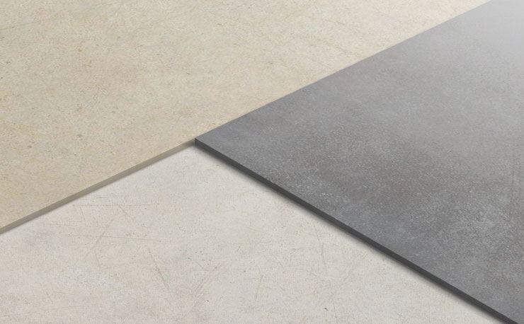 Gres porcellanato effetto cemento ceramiche refin s p a