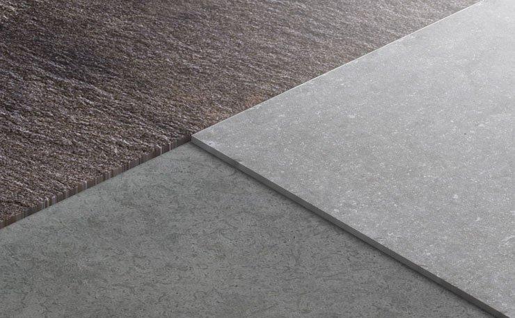 Posa di piastrelle su pavimenti ceramiche refin for Grandi pavimenti del garage