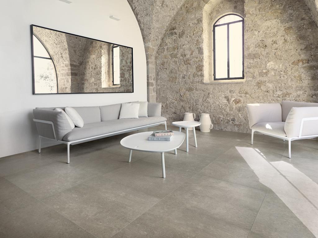 pavimenti in gres porcellanato effetto pietra leccese