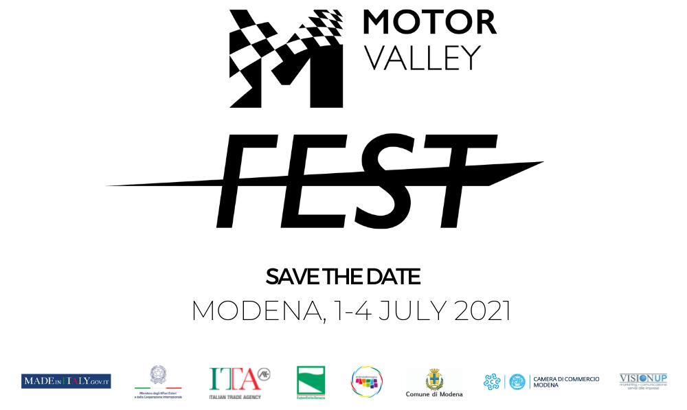 VIENI A TROVARCI AL MOTOR VALLEY FEST 2021